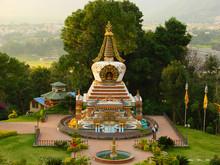 Small Buddhist Stupa Of Kopan ...