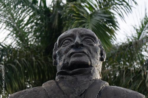 Fotobehang Historisch mon. Andres Quintana Roo statue