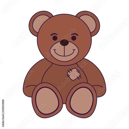 Fotografie, Obraz teddy bear baby toy