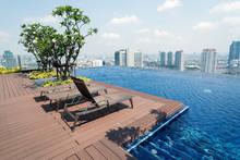 Rooftop Infinity Pool In Bangkok, Thailand
