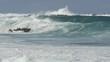 Ocean wave tide slow motion