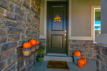 Entryway Of A Home With Hallow...