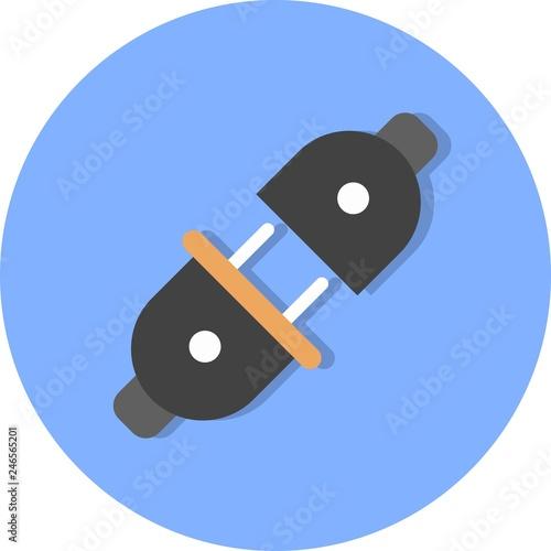 Photo  Vector Plug Connector Icon