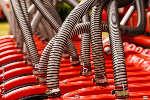 Fotografie, Obraz  Flexible plastic pipe