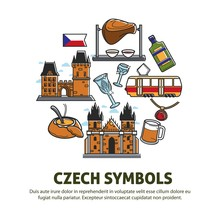 Czech Symbols Food And Architecture Or Culture