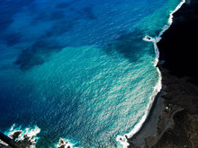 Big Island's Black Sand Beach,...