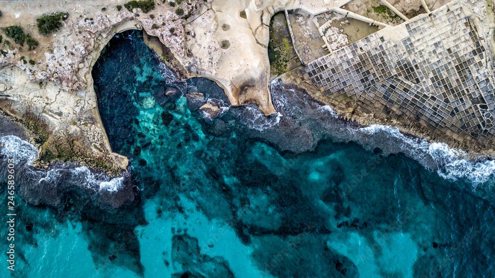 Fototapeta Malta z drona