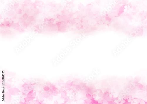 Valokuva  優しい桜 上下
