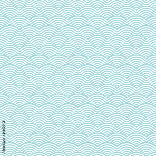 Tapety turkusowe  seamless-pattern-abstract-waves-retro-turquoise