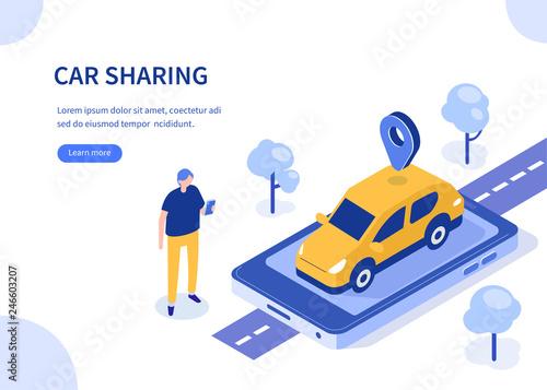 Cuadros en Lienzo car sharing