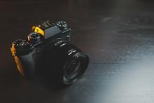 Fujifilm X-T3 Camera On Dark D...