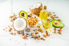 Healthy Vegan Fat Food Sources...