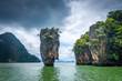 Ko tapu island in Phang Nga Bay, Thailand