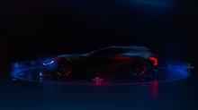 Futuristic Hi Tech Sports Car ...