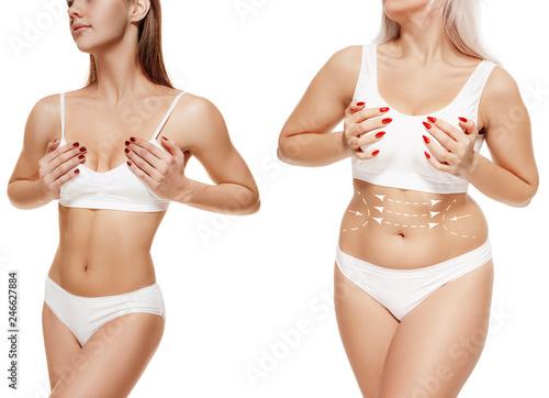 Hot thongs strip