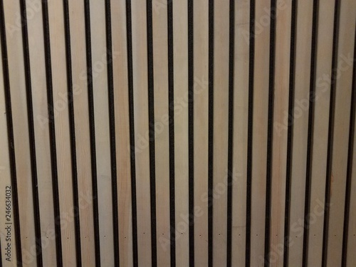 brown or tan pieces of wood or fence