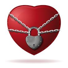 Heart Is Locked. Heart Is Wrap...