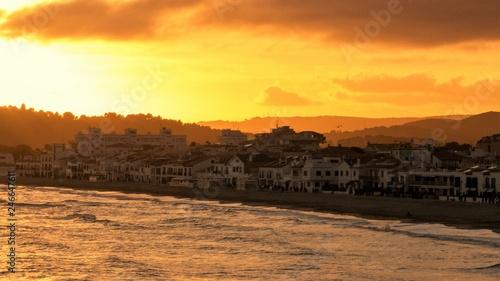 Poster Corail Altafulla Beach