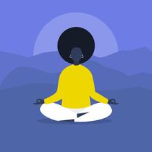 Meditation. Outdoor Yoga. Harm...