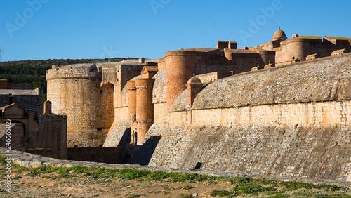 Foto op Plexiglas Historisch geb. Fort de Salses, France