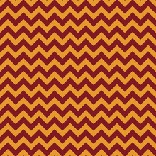 Red And Gold Seamless Pattern - Chevron Zig Zag Repeating Pattern Design