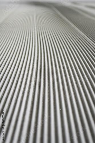 Fotografie, Obraz  wieczorna jazda na nartach - sztruks - ratrakowanie