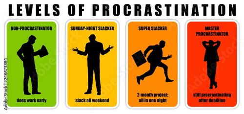 Photo Procrastination levels