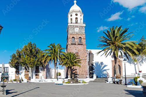 Foto  Church in Teguise, Spain