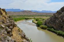 The Rio Grande River In Big Be...