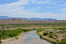 The Rio Grande River In Big Be...