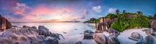 Sonnenuntergang Am Strand Anse...