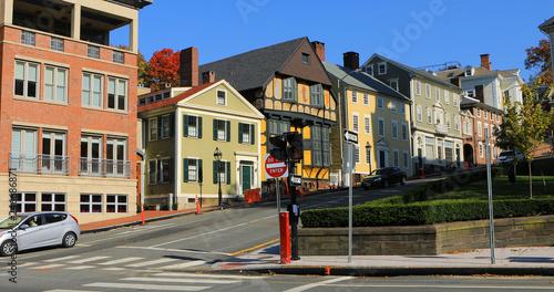 Fotografía  Street scene in Providence, Rhode Island