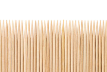 Bamboo Toothpicks Are Placed I...