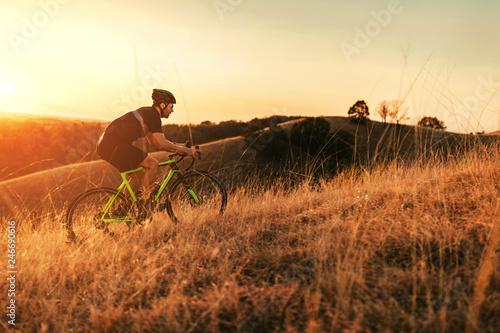 Fotografie, Obraz It is harder go uphill
