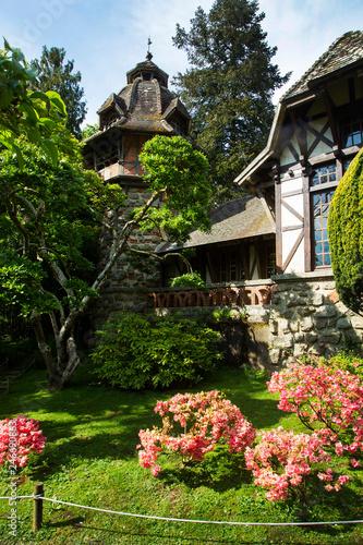 Fotografia  Oriental Garden in Maulevrier. France
