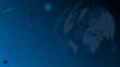Erdball und Planeten, Hintergrund, world map globe