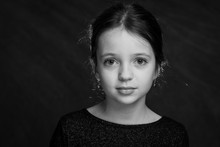 9 Years Old Girl Portrait