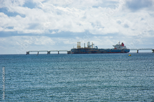 Fotografia, Obraz  Gas and Oil Industry - Economy and Energy Sources