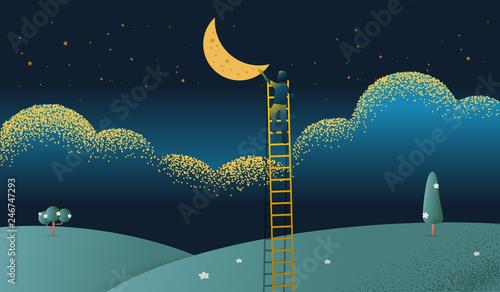 biznesowego-pojecia-wektorowa-ilustracja-dosiega-out-dla-gwiazd