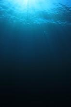 Underwater Blue Background In ...