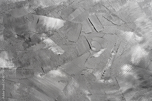 Fototapety, obrazy: Decorative gray art texture for background. Rough surface to enter text. Blank background design banner.
