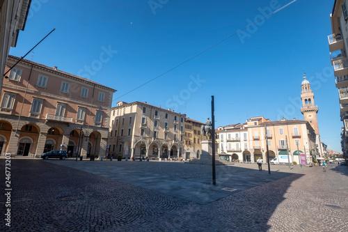 Photo Mazzini square in Casale Monferrato, Piedmont