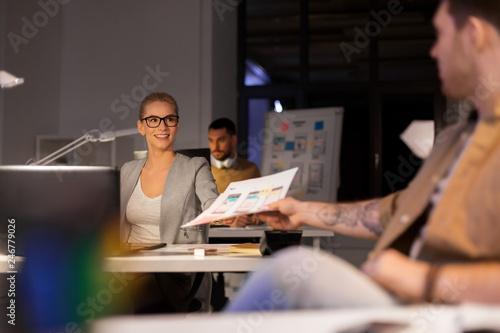 business, deadline and technology concept - software developer