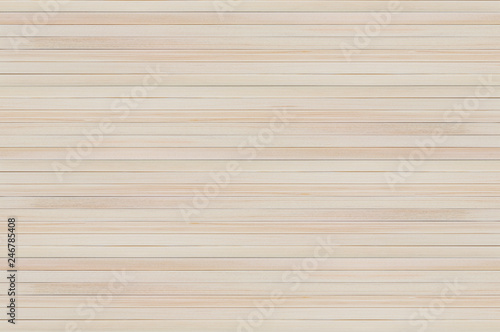 Fotografía  Natural background of new wooden light plank boards horizontal
