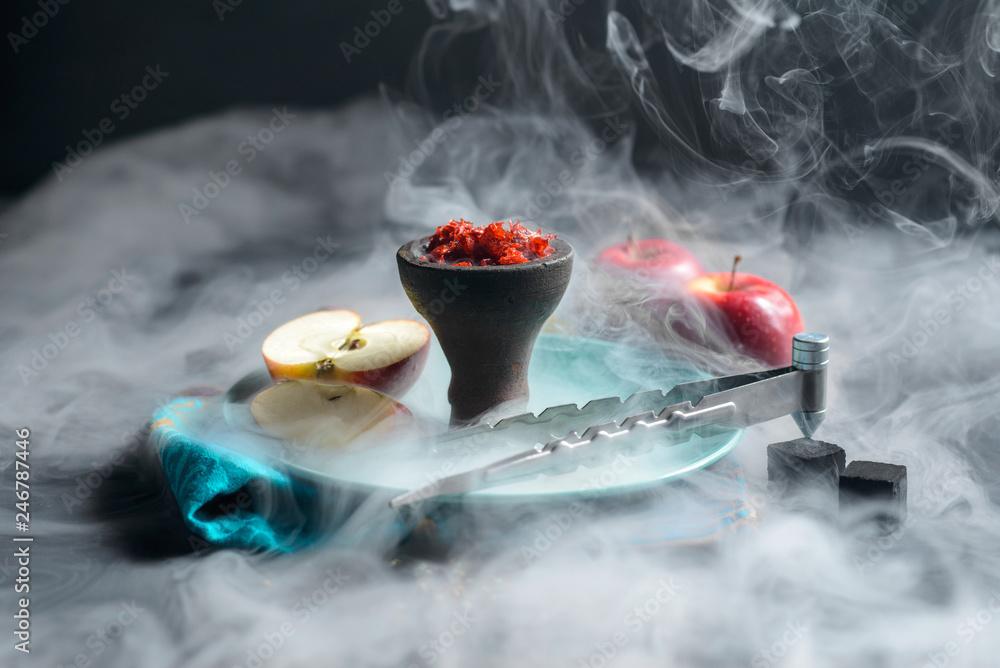 Fototapeta Shisha tobacco smoke