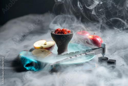 Fototapeta Shisha tobacco smoke obraz