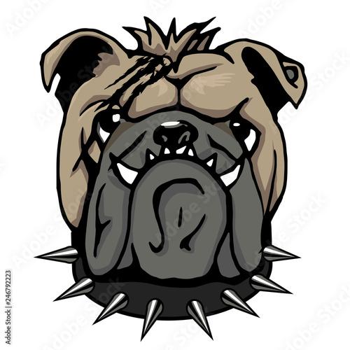 Bulldog Head Clipart Buy This Stock Vector And Explore Similar