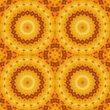 Sunflower Pattern Background S...