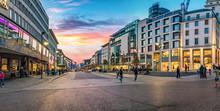 Panorama Der Innenstadt In Pfo...