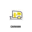 CARAVAN ICON CONCEPT